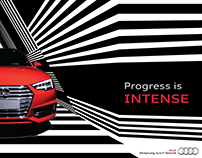 AUDI A4 Launch in India - Event Design