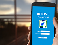 IIITDMJ Forms App - UI Design
