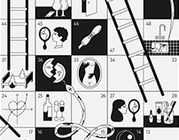 Snakes and Ladders. Romance.