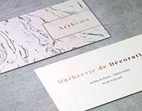Projet Business Card Arthema