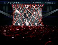 Concert concept renders