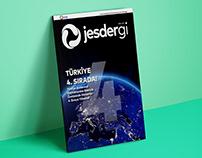 Jesdergi // Sektörel Dergi Tasarımı