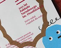 200 lat Ossolineum | a flyer