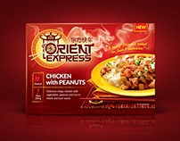 Orient Express meals Packaging Design