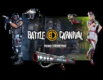 Battle Carnival - promo landing page