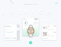 STITCH - Shopping app UI Kit
