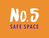 No.5 Safe Space - Website Design