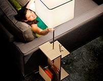 FUSTA , floor  desk lamp