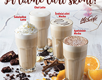 McCafe winter drinks
