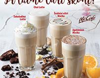 McCafe winter drinks