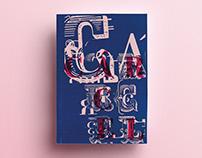 Cárcel // Desplegable Tipográfico