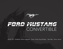 Ford Mustang Convertible Campaign