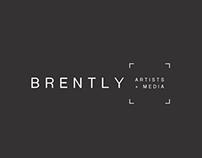 Brently Artists + Media Logo