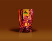 Lava Java Coffee Bag Mockup