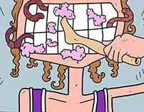 Barbie Brush Spaghetti Toes