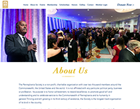 The Pennsylvania Society Website