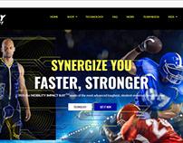 Web Design for Sports Apparel