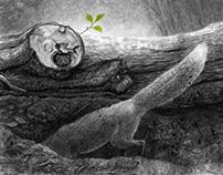 The burrow / Le terrier