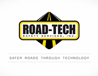 Road-Tech Logo Animation