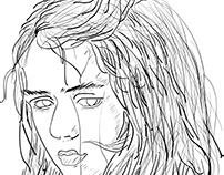 Arya Stark - Drawing