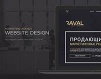 Raval marketing agency Web site