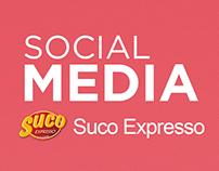 Mídias sociais - Suco Expresso - 2017.