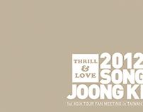 2012 Song Joong Ki Thrill & Love fan meeting in Taiwan