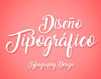 Diseño Tipográfico/Typography Design