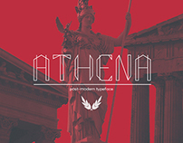 ATHENA - Post-modern Typeface
