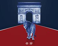 PSG v OL / Ligue 1