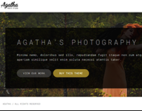 Agatha | Art Gallery Photography Theme