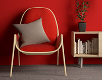MAGDA Easy chair