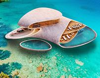 Floating Villa in by Gravity Studio / Mohanad Albasha