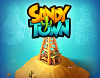 SandyTown | Game Art Project