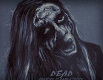 Mayhem / Black Metal / drawing by Damla Topcu