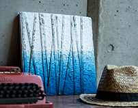 SUAIKA: Handmade Paper + Pigment Art Panels