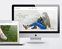 Dromedaris - Rebrand, Web & Footwear Design