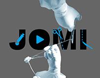 JOMI surgical video rebranding campaign