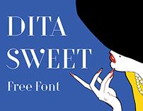 DitaSweet Free Font