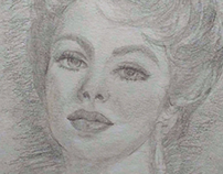 Desenho Elizabeth Taylor