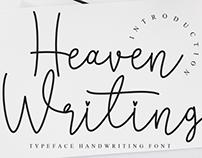 FREE | Heaven Writing Font