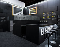 Elements Media Storage Trade Show Stand