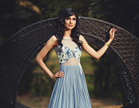Lookbook for designer Sakshi Bindra's brand SAKK