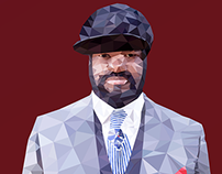 Gregory Porter - Low Poly