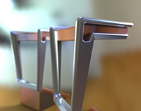 Design of bar chair
