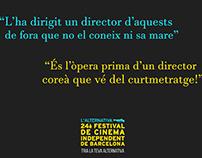 Festival cine l'Alternativa - Tria la teva Alternativa