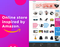 ZoneStore - online store like Amazon.