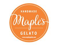 Maple's Gelato Rebranding