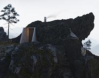 Rock house concept by Nikolay Shevchenko