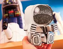 NASA Commemorative Paper Toy Series